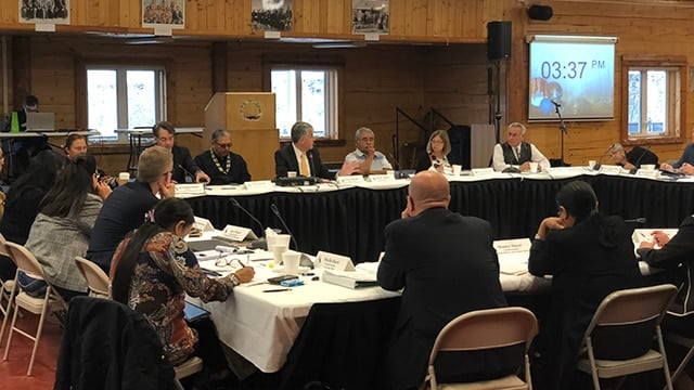 Deputy Secretary Hargan meets with the Secretary's Tribal Advisory Committee in Fairbanks, Alaska